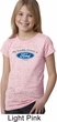 Girls Ford Shirt My Daddy Drives a Ford Burnout Tee T-Shirt