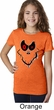 Girls Halloween Shirt Ghost Face Tee T-Shirt