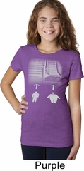 Girls Yoga Shirt Choices Tee T-Shirt