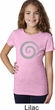 Girls Yoga Shirt Vortex Tee T-Shirt