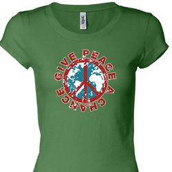 Give Peace a Chance Ladies Shirts