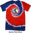 Give Peace A Chance Patriotic Tie Dye Shirt