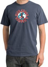 Give Peace A Chance Pigment Dyed T-Shirts
