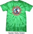 Give Peace A Chance Spider Tie Dye Shirt