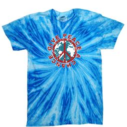 Give Peace A Chance Tie Dye T-shirts
