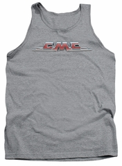 GMC Tank Top Chrome Logo Athletic Heather Tanktop