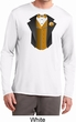 Gold Vest Tuxedo Mens Dry Wicking Long Sleeve Shirt
