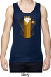 Gold Vest Tuxedo Mens Moisture Wicking Tanktop