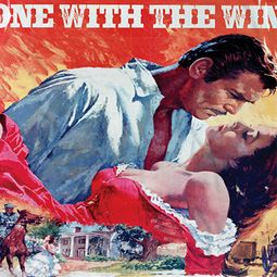 Gone With The Wind Poster Sublimation Shirts