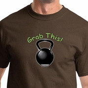 Grab This Kettle Bell Mens Shirts