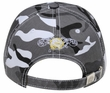 Graffiti Style 3D Hat - Lackpard Cap - Gray Camo