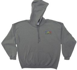Grateful Dead Hoodie Bears Hooded Sweatshirt Smoke Grey Hoody
