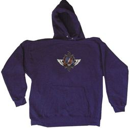 Grateful Dead Hoodie Hooded Sweatshirt 40th Wings Stealie Hoody