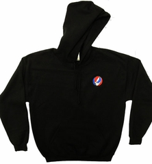 Grateful Dead Hoody SYF Hooded Sweatshirt Pocket Print Black Hoody