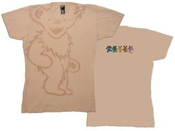 Grateful Dead Juniors T-shirt Big Bear Fitted Tee Shirt