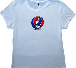 Grateful Dead Juniors T-shirt Steal Your Face Fitted Tee Shirt