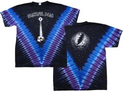 Grateful Dead Shirt Tie Dye StarshineV-Dye Tee T-Shirt