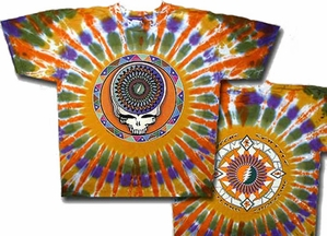 Grateful Dead T-shirt Steal Your Feathers Adult Tee Shirt