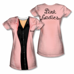 Grease Rizzo Pink Ladies Sublimation Juniors Shirt Front/Back Print