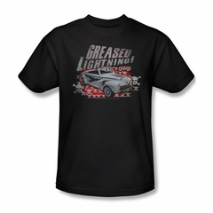 Grease Shirt Greased Lightening Adult Black Tee T-Shirt