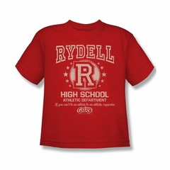Grease Shirt Kids Rydell High Red Youth Tee T-Shirt