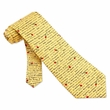 Great Operas Tie Yellow Silk Necktie - Mens Music Neck Tie