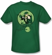 Green Arrow Kids T-shirt - DC Comics Kelly Green Tee Youth
