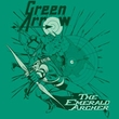 Green Arrow Shirt The Emerald Archer DC Comics Kelly Green Tee