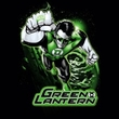Green Lantern Juniors T-shirt Green and Gray Girly Black Tee