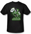 Green Lantern Kids Shirt Green and Gray Justice League Youth Black Tee
