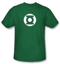 Green Lantern Kids T-shirt Green Lantern Logo Youth Tee Kelly Green