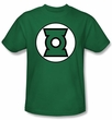 Green Lantern Logo Kids T-shirt - Youth Kelly Green Tee
