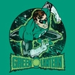 Green Lantern T-shirt In The Spotlight Kelly Green Tee