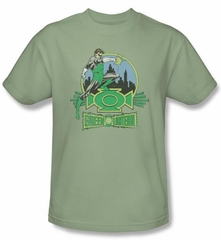 Green Lantern T-shirt Ring Power DC Comics Wasabi Adult Tee