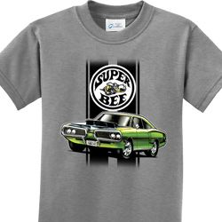 Green Super Bee Kids Dodge Shirts