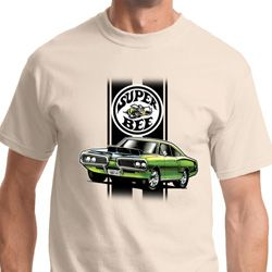 Green Super Bee Mens Dodge Shirts