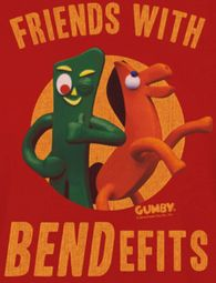 Gumby Bendefits Shirts