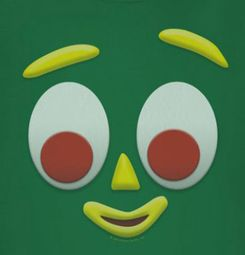 Gumby Face Shirts