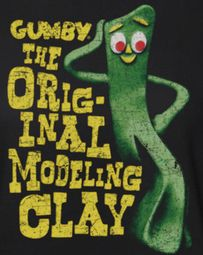 Gumby Modeling Clay Shirts