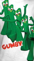 Gumby Pose Sublimation Shirts