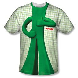 Gumby Shirt Costume Sublimation Shirt