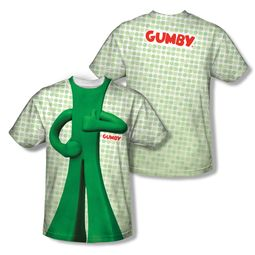 Gumby Shirt Costume Sublimation Shirt Front/Back Print