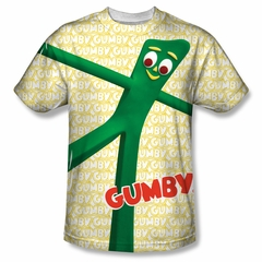 Gumby Shirt Stretched Sublimation Shirt