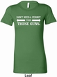 Guns Permit Ladies Longer Length Shirt