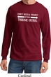 Guns Permit Long Sleeve Shirt