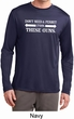 Guns Permit Mens Dry Wicking Long Sleeve Shirt