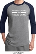 Guns Permit Mens Raglan Shirt