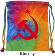 Gym Bag Red Hammer And Sickle Tie Dye Bag