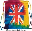 Gym Bag Union Jack Tie Dye Bag