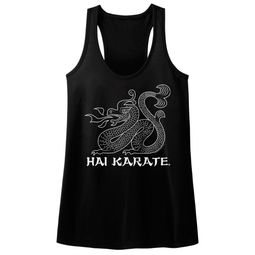 Hai Karate Juniors Tank Top HK Dragon Black Racerback